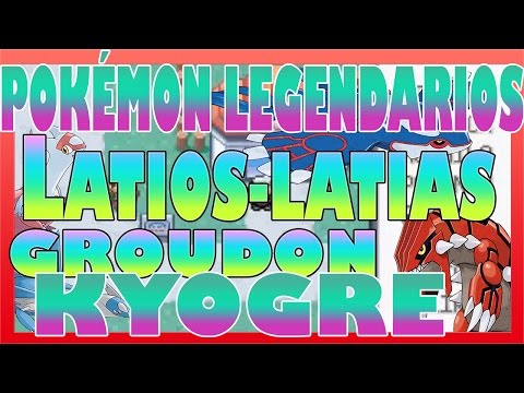Pokemon Esmeralda Guia Parte 73 Latias/Latios/ Groudon/ Kyogre