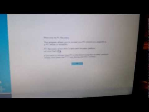 How To Restore HP pavilion DV2000 back to factory defaults