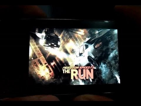 Nokia Asha Need For Speed Shift and NFS: The Run Demo