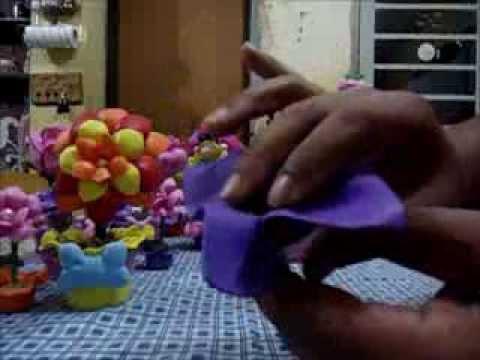 COMO MODELAR E V A COM O QUE TEMOS EM CASA (VÍDEO 1-CACHEPÔ)