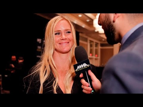 Holly Holm Preparing In Case Someone Gets Hurt Before UFC 200