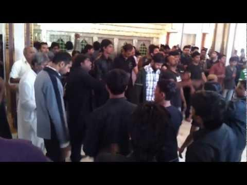 Bus Ya Hussain-Matam on 20th SafarChehlum of Roza of Imam Hussein...