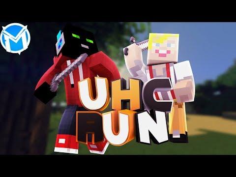 Konečně povedená hra!;3 | UHCRun [MarweX&Jirka]