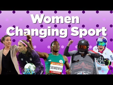 Women Changing The Game In Sport