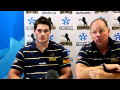 Brumbies captain Ben Mowen and Jake White discuss the year ahead - Brumbies captain Ben Mowen and Ja