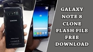 GALAXY NOTE 8 SM N9500 Copy/CLONE FLASH FILE FREE DOWNLOAD