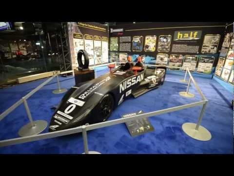 Nissan DeltaWing - Detroit 2013 Walkaround