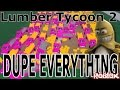Base Dupe Glitch : Lumber Tycoon 2 | RoBlox ( No Lagg Required )