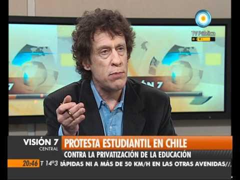 Visión Siete: Se intensifica la protesta estudiantil en Chile