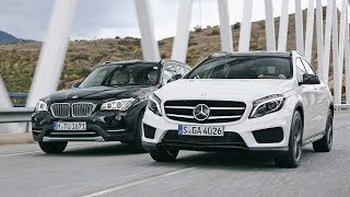 BMW X1 vs. Mercedes GLA