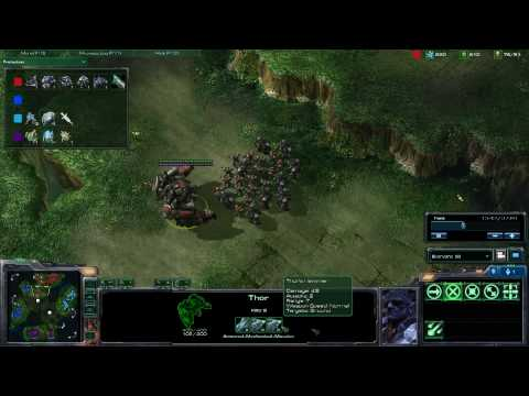 HD Starcraft 2 TP v TP g9 p2/4 Video