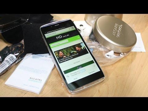 Alcatel OneTouch Idol Alpha: Unboxing y primeras impresiones