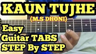 download lagu Kaun Tujhe Guitar Tabs/lead/solo Lesson  M.s Dhoni  gratis