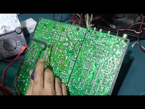 How To Repair Standby Mode Of Ultra Slim Television (Step By Step) - Bengali Tutorial