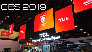 TCL CES 2019 New Quantum Dot / Mini LED / Soundbars