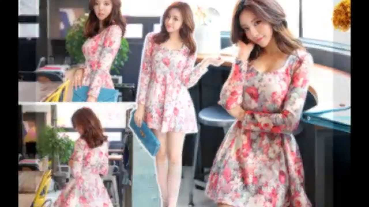 korean fashion style dress spring summer 2014 youtube