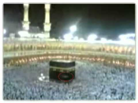 The appearance of angel on kaba