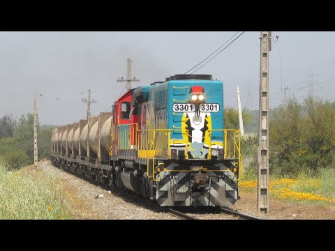 Trenes Fepasa entre Polpaico y Til Til
