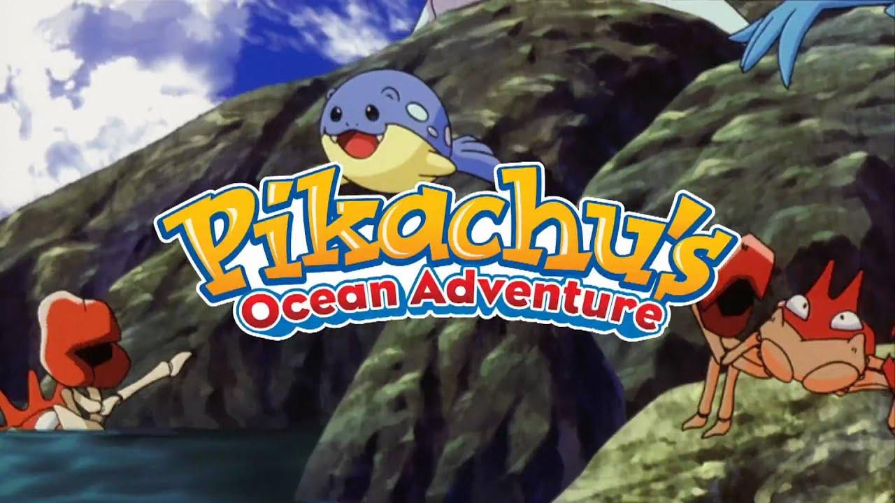Pokemon 4D: Pikachu39;s Ocean Adventure Trailer  YouTube