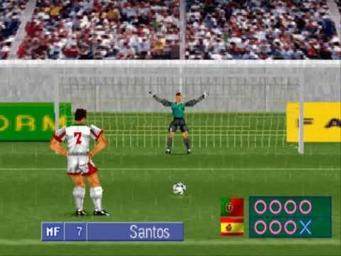 Goal Storm 97 Penalty Shootout Portugal vs Spain