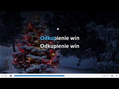 Kolęda - Cicha Noc - Karaoke
