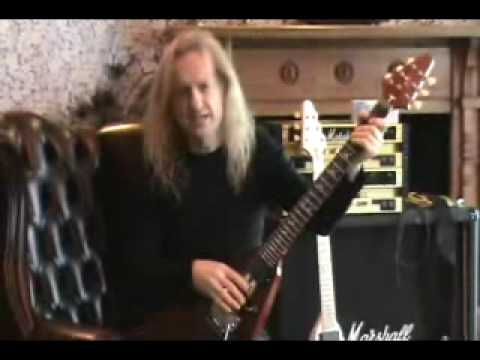 KK Downing talks about his KxK guitars