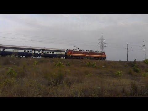 Grandpa Wap-4e With Howrah - Porbandar okha Express!! video