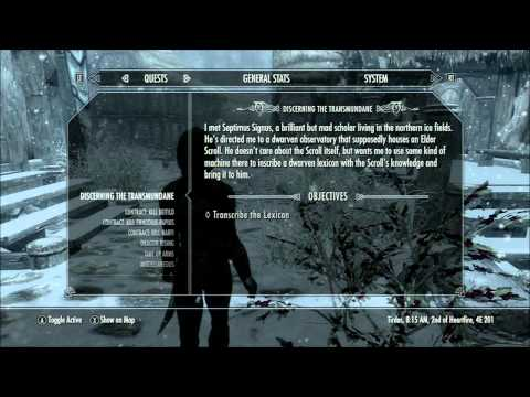 Skyrim Xbox Race To The Oghma Infinium 15