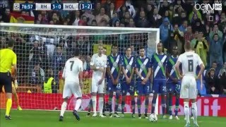 إياب ربع نهائي دوري أبطال أوروبا:ريال مدريد3(هاتريك رونالدو HD)- فولفسبورغ 0 علي محمد علي 12-4-2016