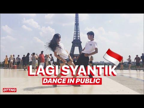 Download Lagu  SITI BADRIAH - LAGI SYANTIK DANCE IN PUBLIC by Océane & David | Choreo by Natya Shina Mp3 Free