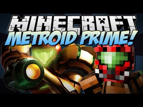 Minecraft | METROID PRIME! (Power Suits, Insane Weapons & More!) | Mod Showcase