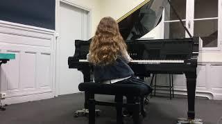 Clementi Sonatine Opus 36 n°6 (Eve)