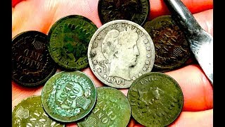 Finding Long Lost TREASURE Of The Great Plains! Metal Detecting Old and Silver Coins