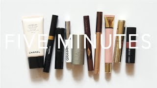Five Minute Makeup | Everyday Minimal Routine