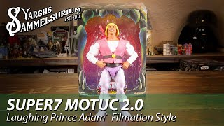 Review SUPER7 Classic Club Grayskull - Prince Adam SDCC Filmation MotUC 2.0 - Unboxing deutsch