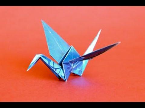 origami crane instructions wwworigamifuncom youtube