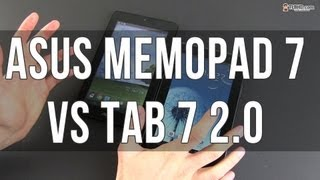 Asus Memo Pad vs Samsung Galaxy TAB 7 2.0 - cheap Android tablets compared