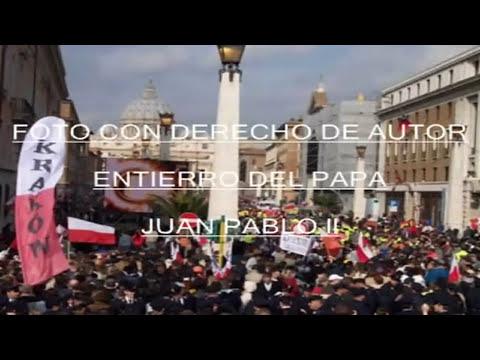 MISTERIO EN FOTOS TOMADAS EN EL ENTIERRO DE JUAN PABLO ll