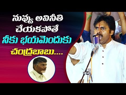 Pawan Kalyan Sensational Comments Over IT Raids On TDP leaders | Alleges Chandrababu