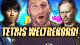 TETRIS WELTREKORD REAKTION! - Flying Uwe