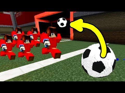 ОДИН ПРОТИВ ПЯТИ! ВОЗМОЖНО ЛИ ЗАБИТЬ ГОЛ? ВСЕ МИНИ-ИГРЫ МАЙНКРАФТА ЧЕЛЛЕНДЖ №2 (Minecraft Football)