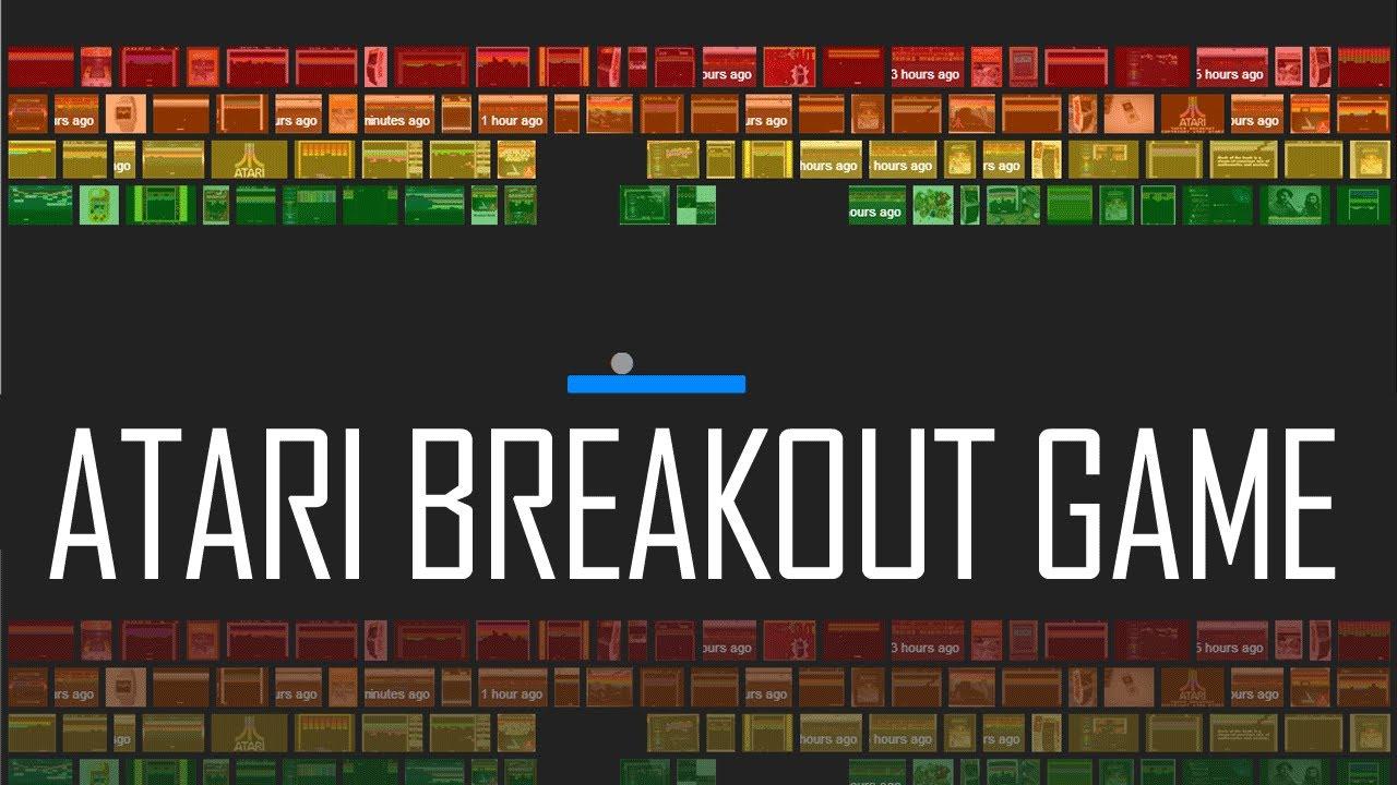Play Atari Breakout Game