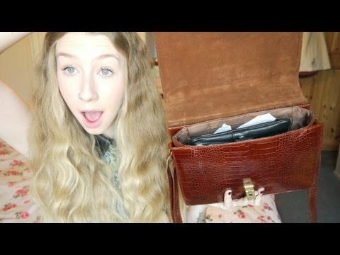What's In My Bag � 2012