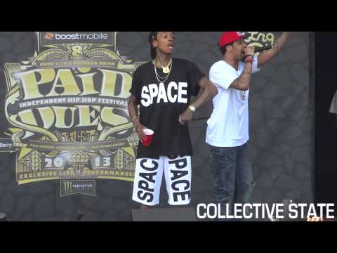 "Chevy Woods Brings Out Wiz Khalifa For ""Taylor Gang"" at Paid Dues 2013 HD"