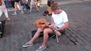 Michael Jackson, Human Nature cover - Busking on the streets of London, UK