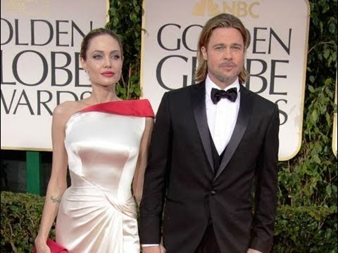 World Celebrities At Golden Globes Awards 2013 Red Carpet