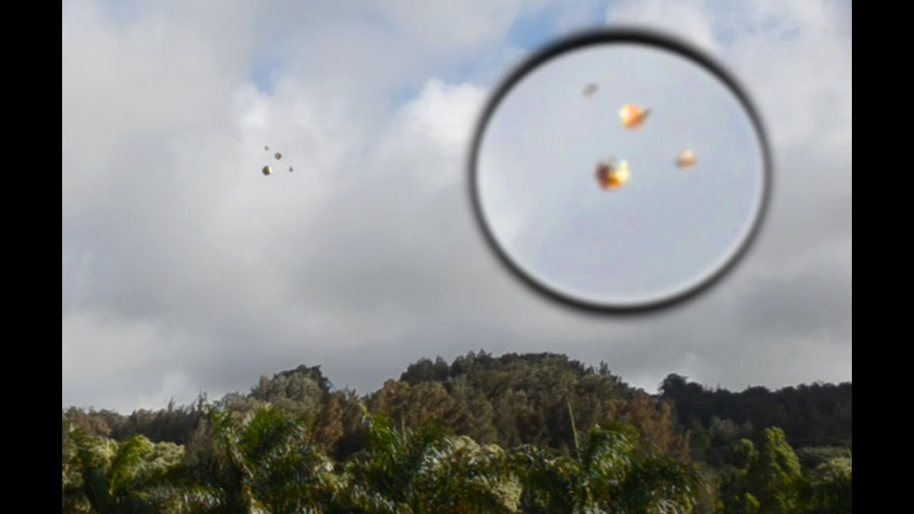 UFO Sighting Spotted Flying Above A Forrest, UFO Sighting News