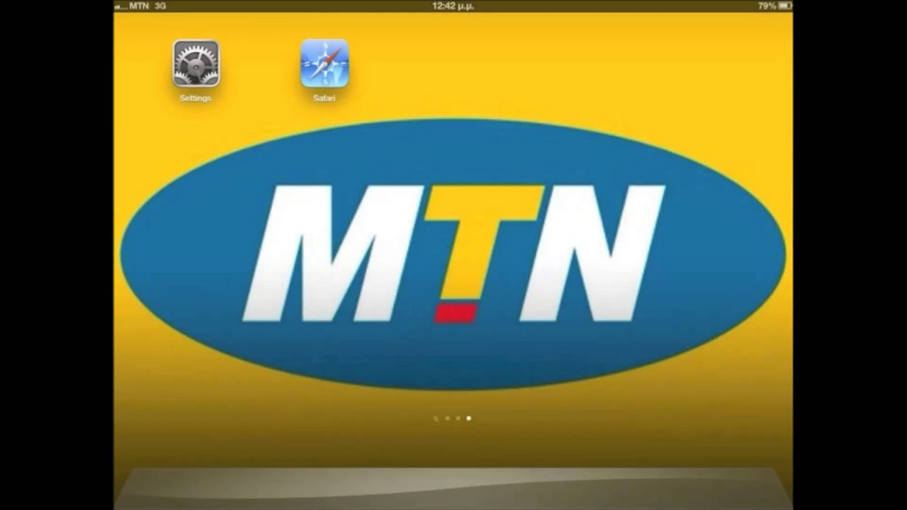 how to get mtn internet settings