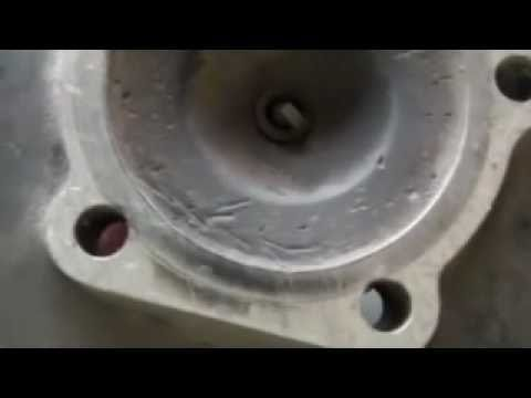 How To Skim A 2 Stroke Cylinder Head Using Household Tools