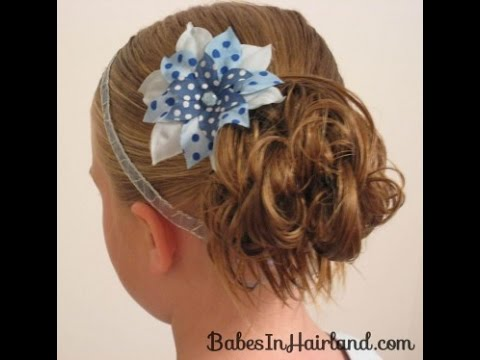 Tags: messy bun easy messy bun how to do a messy bun buns hair little girl